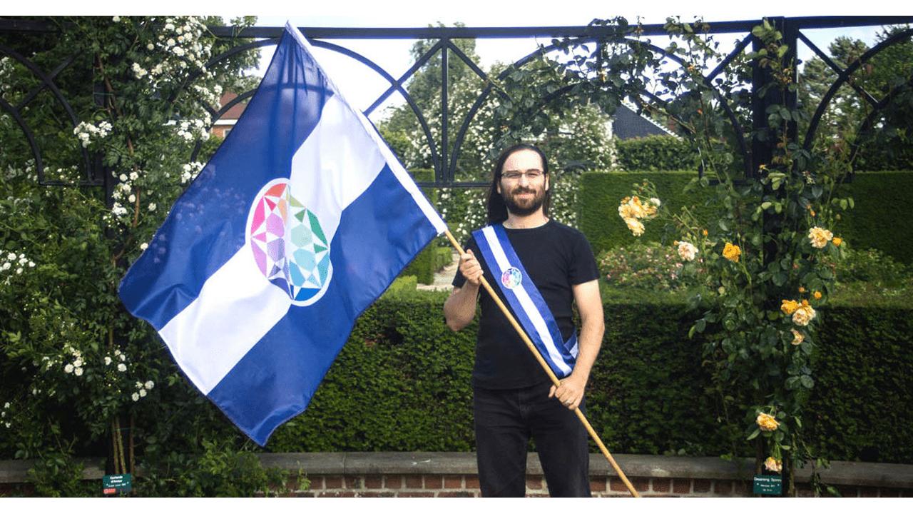 O Embaixador do Autistão na Bélgica