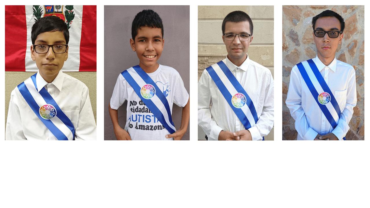 Les ambassadeurs d'Autistan au Pérou, au Brésil (Amazonas), au Maroc, au Kazakhstan